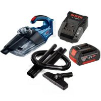Bosch GAS 18 V-LI 18V Cordless Vacuum Cleaner with Battery Charger