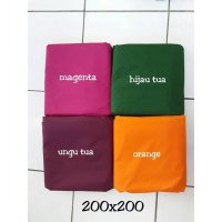 sprei anti air uk 200x200x30 polos