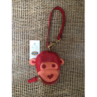 Fossil Monkey Coin Purse Keychain