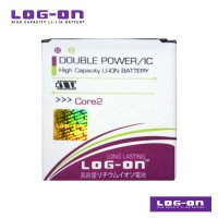 LOG-ON Battery For Samsung Galaxy Core 2 - Double Power & IC Battery - Garansi 6 Bulan