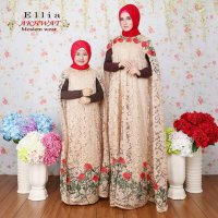 FASHION MUSLIM AELLIA Couple DRESS GAMIS TERBARU