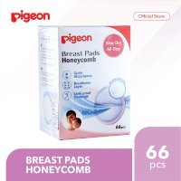 PIGEON Breast Pads Honeycomb Isi 66 Pcs