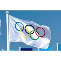 Bendera Olimpiade 5 Rings 5 Dering Olympic Flag Olympia