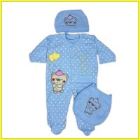 JUMPER ACCESSORIES BEAR C3B-BU-01 (3-6 Bulan) - ARDEN & LEON