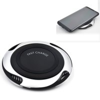 New Qi Fast Wireless Charger Quick Charge For Samsung Galaxy S8/S8 Plus