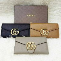 dompet gucci marmont leather. Ori leather
