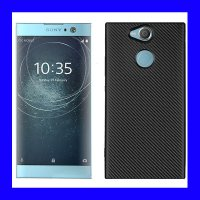 Sony Xperia XA2 Ultra - Carbon TPU Case Casing Cover