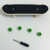 [globalbuy] Promotion Factory price Fingerboard mini finger skateboard tech-deck mini skat/1824461