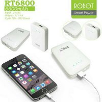 [Premium] Powerbank Robot Original / Power Bank Vivan Robot RT6800 6600MAH