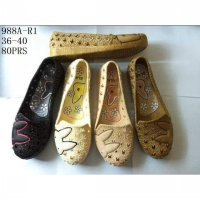 flat shoes jelly rabbit/sepatu jelly motif rabbit dewasa