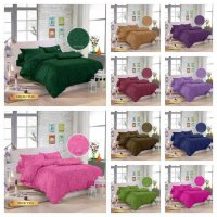 ROYAL SPREI POLOS JAQUARD QUEEN SIZE 160X200X30CM