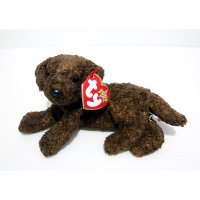 Boneka Anjing Dog Fetcher Original TY 2000 Plush Doll
