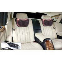 CAR AND HOME MASSAGE PILLOW BANTAL PIJAT LEHER PUNGGUNG PORTABLE
