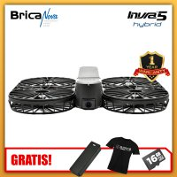 Brica Invra 5 Hybrid AirSelfie Drone Black + Spare Battery + MicroSD 16GB