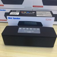 Bose SoundLink Mini S206 Wireless Bluetooth Speaker Sound Link Bass