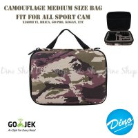 Action Cam Medium Size Camouflage Army Bag/Tas/Case for SJCAM & GOPRO