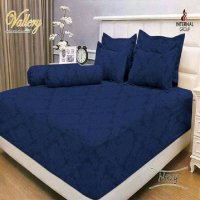 Internal vallery Navy Sprei 180x200x30