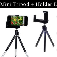 Mini Tripod Fly Stand Mobile Holder L for HP Smartphone / Handphone