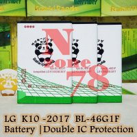 Baterai LG K10 2017 M250N BL46G1F Double IC Protection