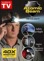 ATOMIC BEAM HEADLIGHT - SENTER KEPALA SUPER TERANG