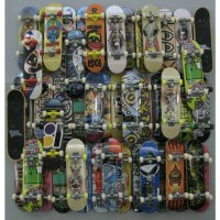 [globalbuy] 20pcs random Fingerboard Tech Decks 96mm mini Skateboard Original boys toy Pla/3149075
