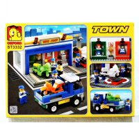 Best Seller And Ready Stock Hadiah Souvenir Blok Lego Bike Shop Town Oxford No 1 In Korea (ST3332)