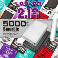 POWERBANK LOGON 5000 MAH MINI 750L