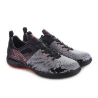 Specs Sepatu Futsal 400599 METASALA COMBAT - COOL GREY/BLACK/E RED