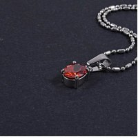 KALUNG SINGLE - RED DIAMOND STONE NECKLACE