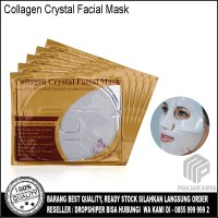 Masker Wajah Collagen Crystal Facial Mask - White
