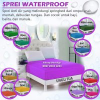 SPREI WATERPROOF 180X200 180 X 200 ANTI OMPOL AIR BOCOR