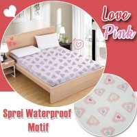 Sprei waterproof motif 160x200 | sprei anti air motif 1