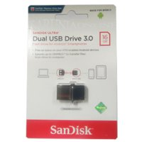 SANDISK FLASHDISK USB 3 OTG 16GB /UP TO 130 MB/S
