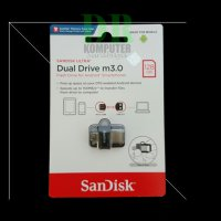 Sandisk Flashdisk OTG Dualdrive 128gb new (SDDD3-128GB)