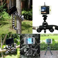 Tripod Flexible Gorilla With Holder Stand Mount for Gopro Camera/SLR /DV Mini Camera Handphone -