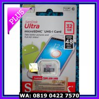 (Murah) Memory Card Micro Sd SanDisk Ultra 32 Gb Class 10 Original /