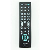 [poledit] Sanyo LCD Plasma HDTV TV Remote Control GXBM Supplied with models: DP32640 DP427/14677664