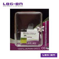LOG-ON Battery For Xiaomi YI Action - Double Power & IC Battery - Garansi 6 Bulan