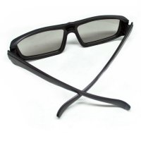 LCD Plastic Circular Polarized 3D glasses for LG TV or Real 3D Cinema