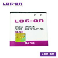 LOG-ON Battery For Sony Xperia Miro -BA700 - Double Power & IC - Garansi 6 Bulan
