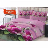 TERMURAH Sprei Lady Rose Motif Beautiful Rose