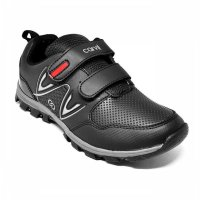 CARVIL SEPATU BACK TO SCHOOL VULZAGA-C BLACK-BLACK