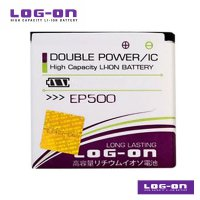 LOG-ON Battery For Sony Xperia EP-500 - Double Power & IC Battery - Garansi 6 Bulan