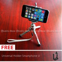 [Ready] Mini Tripod Attanta M-103A with Universal Holder U for Smartphones