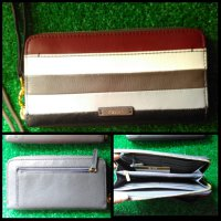Dompet FOSSIL Asli Murah Julia Zip Clutch Multi Color ORIGINAL Wallet