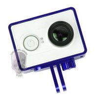 TMC Aluminium Side Frame for Xiaomi Yi Action Camera - HR285 - Blue
