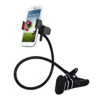 Lazy Mobile Phone Monopod - Tripod-8 - Black