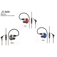 [Limited] J3 Audio - W6 Pro - Detachable Cable MMCX- IEM / Earphone with Mic