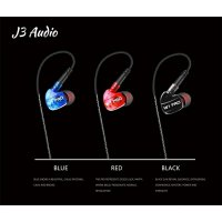 (Recommended) J3 Audio - W1 Pro - Earphone / IEM with mic