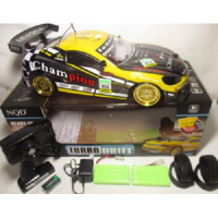 RC Car Drift NQD Turbo 4WD Champion 1:10+NOS Mobil Remote 4 WD